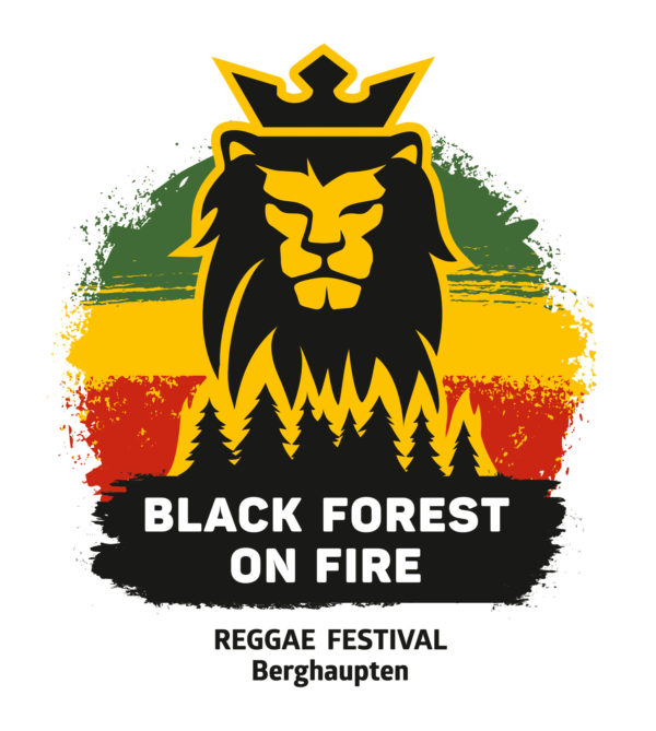 Black Forest on Fire Logo